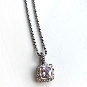 David Yurman morganite necklace